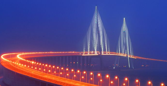 Largest bridge construction project in the history of China bridge construction