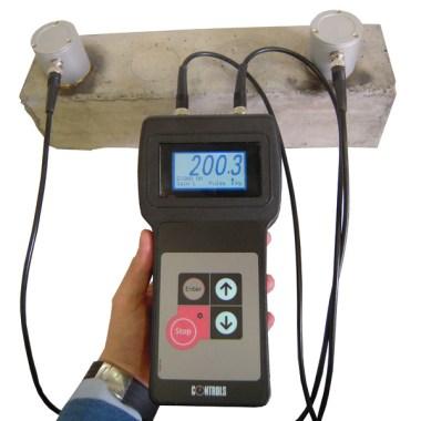 Use of Ultrasound velocity test method