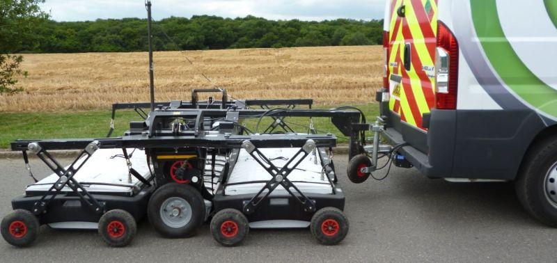 Ground penetrating radar method