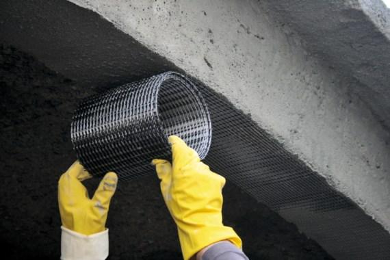 Retrofitting Concrete Using Textile Fiber Reinforcement