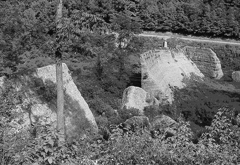 The inadequate foundation design and the shoddy concrete construction led to the failure of Austin Dam.