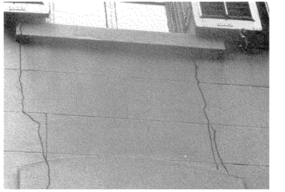 During deep excavation for the foundation of Manhattan Hospital project, the adjacent buildings showed cracks
