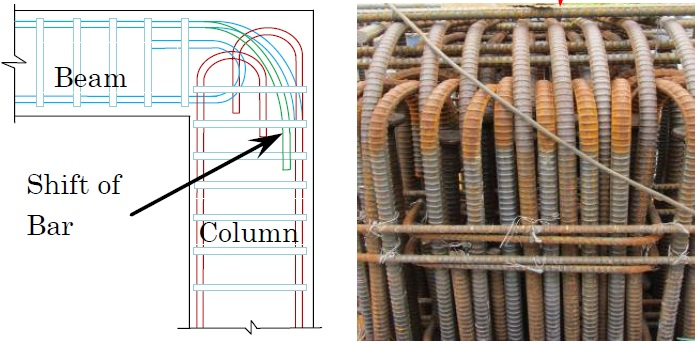 Steel Congestions in Beam-column Joint