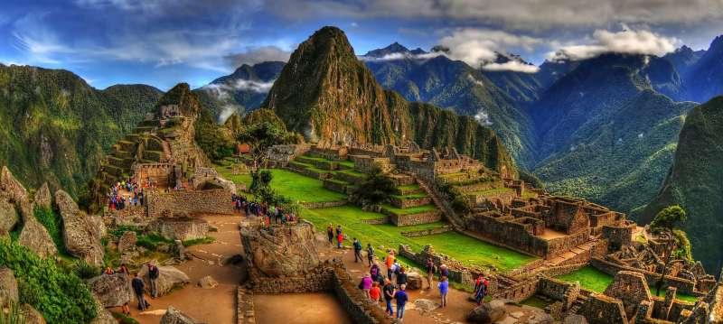 Machu Picchu the great marvel of civil engineering.