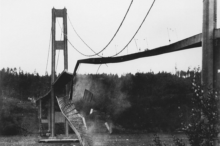 Collapse of the Tacoma Narrows Bridge: A Case Study