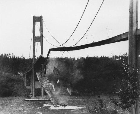 Collapse of Tacoma Narrows Bridge