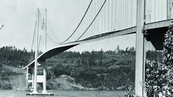 Twisting of the Tacoma Narrows bridge