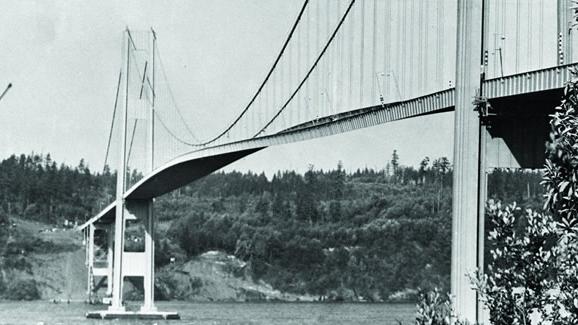 Twisting of the Tacoma Narrows bridge