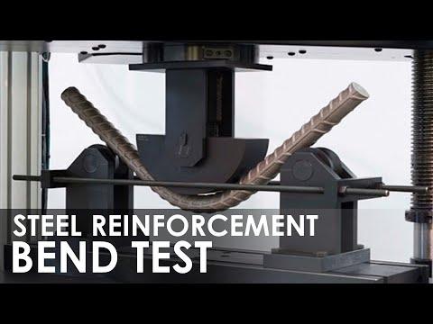 Bend Test on Steel Reinforcement
