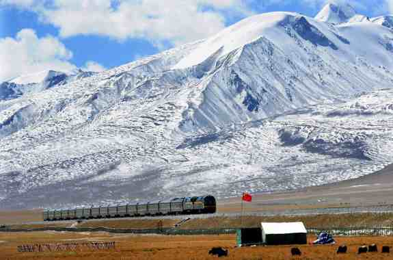 Construction of the The Qinghai–Tibet Railway network in the fragile environmental conditions