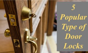 5 Popular Types of Door Locks
