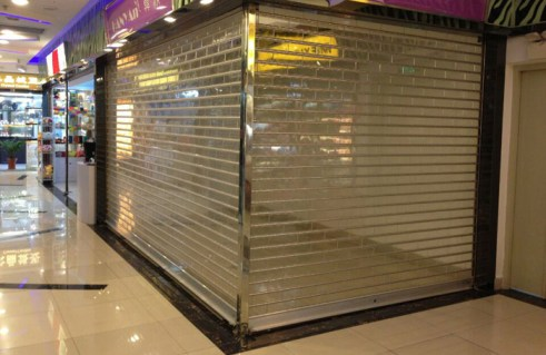 Polycarbonate or Transparent Rolling Shutter