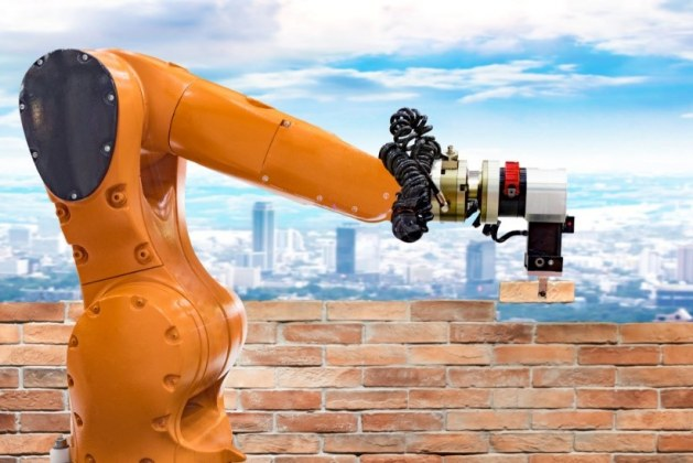 Bricklaying Robots in Construction