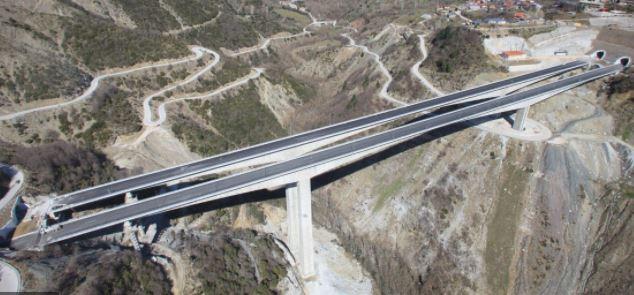 Egnatia Highway in Greece