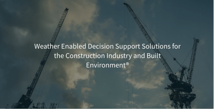 Use of WeatherBuild software for deciding the crane capacity during extreme weather events