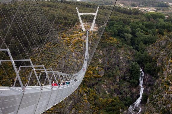 516 Arouca Bridge in Portugal