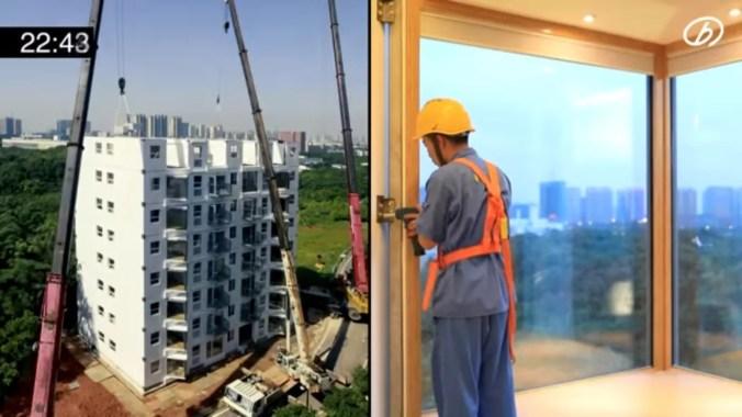Chinese modular building