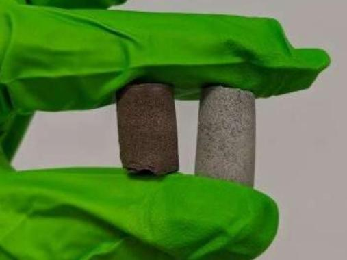 Building material for Mars