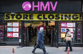 HMV goes into administration