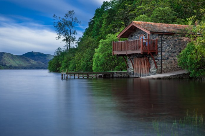 boat house, cottage, waters