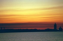 Sunset 1, Lake Charles, Louisiana (Laurie Snyder, copyright 2011-present).