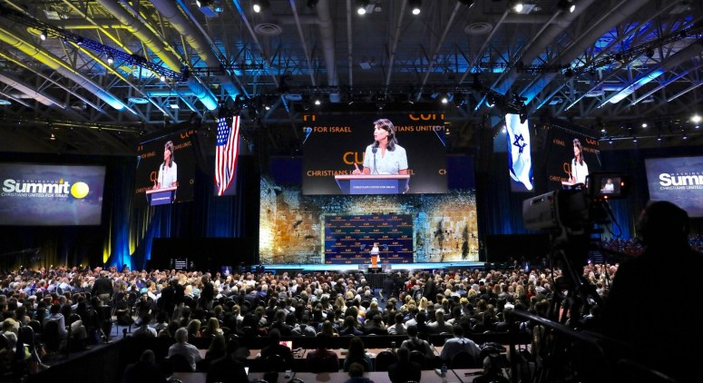 Nikki Haley at CUFI