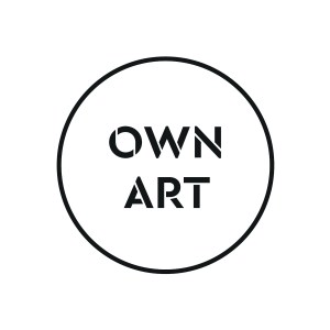 Own Art logo black