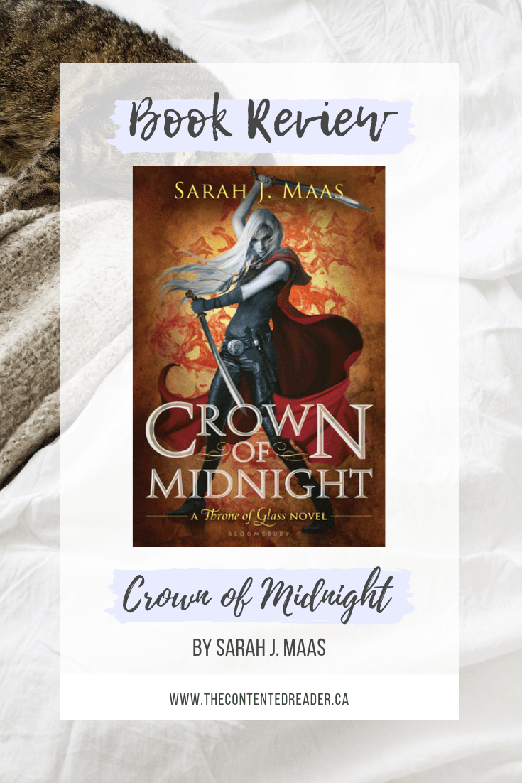Crown of Midnight by Sarah J Maas - The Contented Reader