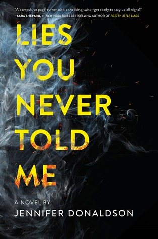 Lies You Never Told Me by Jennifer Donaldson - The Contented Reader