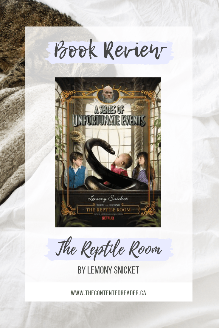 The Reptile Room Book Review - The Contented Reader