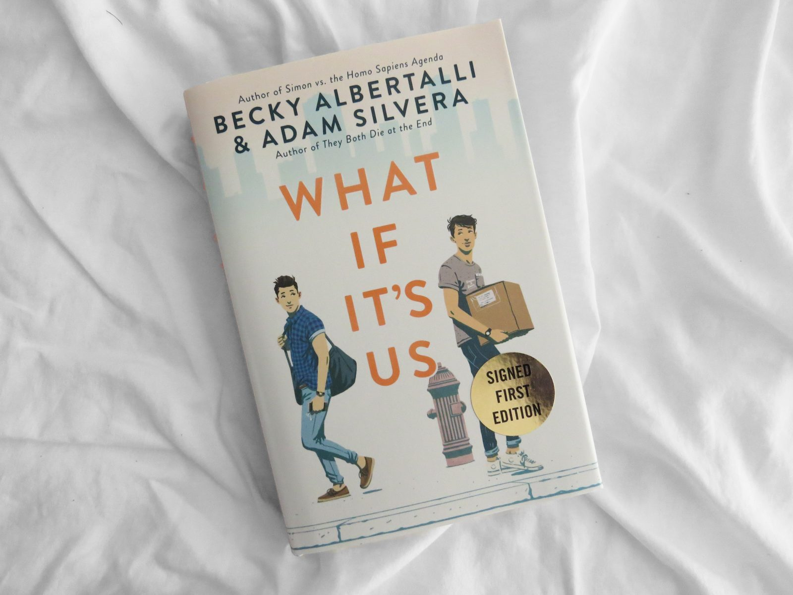 What If It's Us Signed by Becky Albertalli and Adam Silvera - The Contented Reader