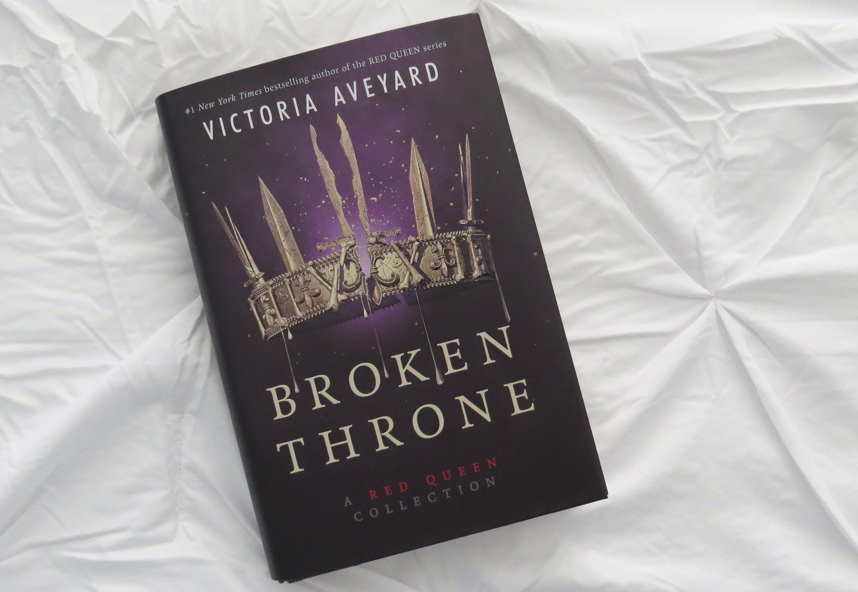 Broken Throne by Victoria Aveyard - The Contented Reader