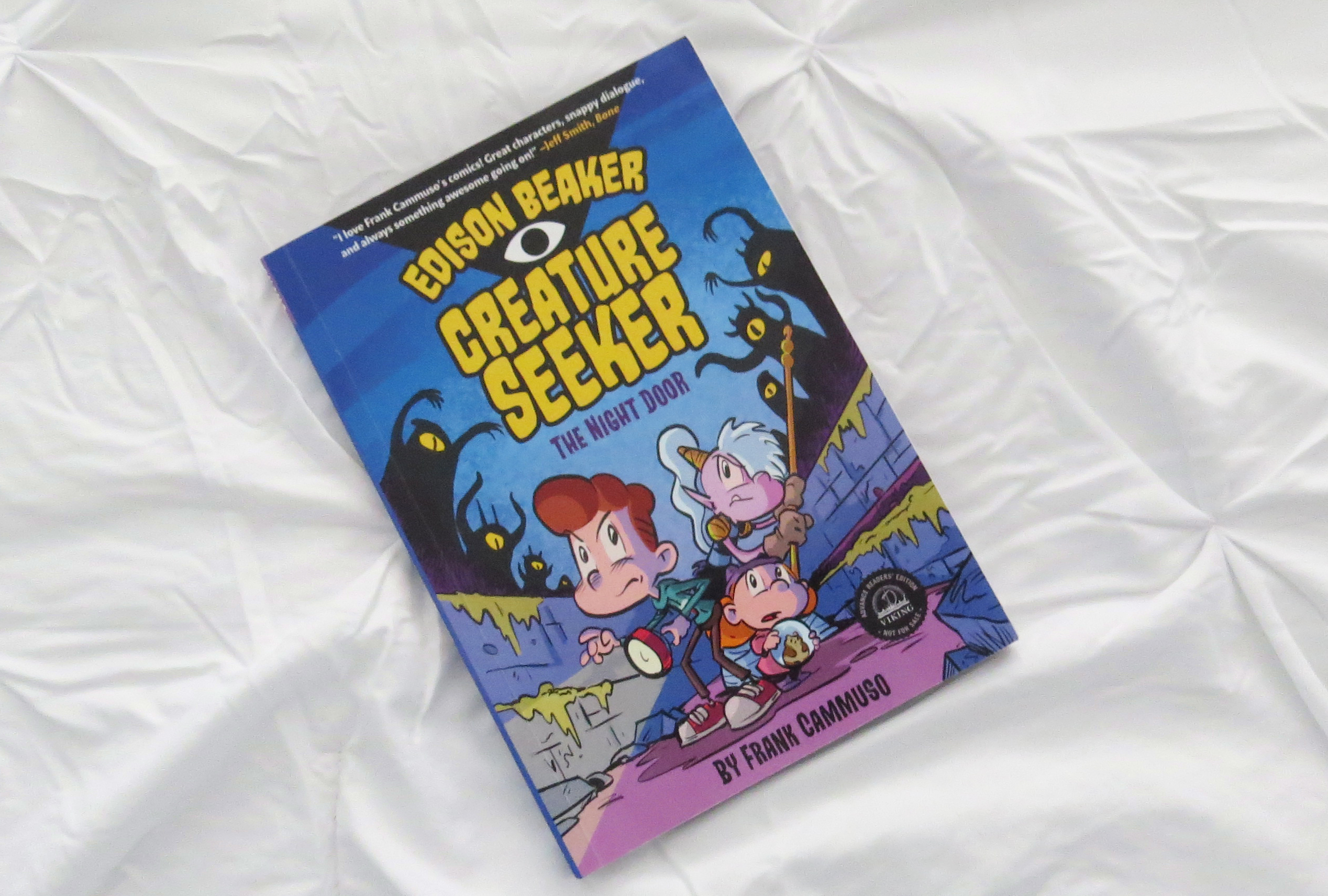 Edison Beaker Creature Seeker by Frank Cammusso - The Contented Reader
