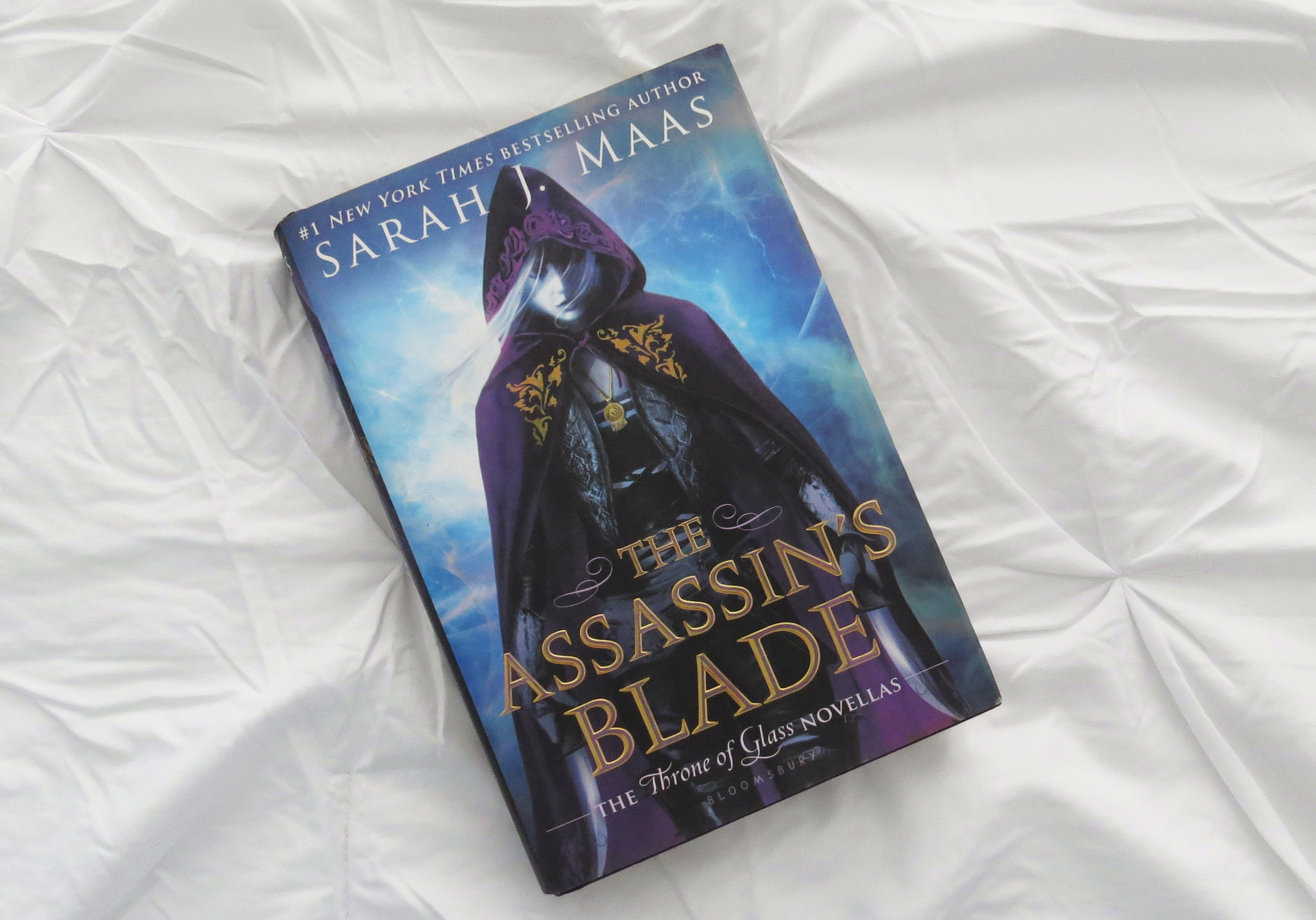 The Assasin's Blade by Sarah J Maas - The Contented Reader
