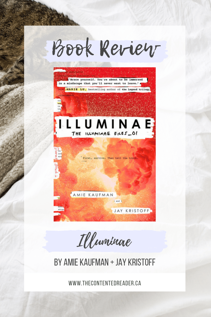 Illuminae by Amie Kaufman and Jay Kristoff - The Contented Reader