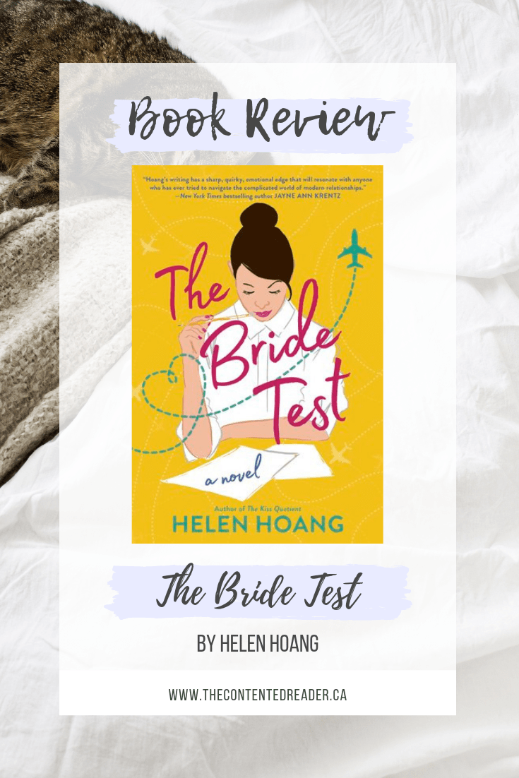 The Bride Test by Helen Hoang - The Contented Reader