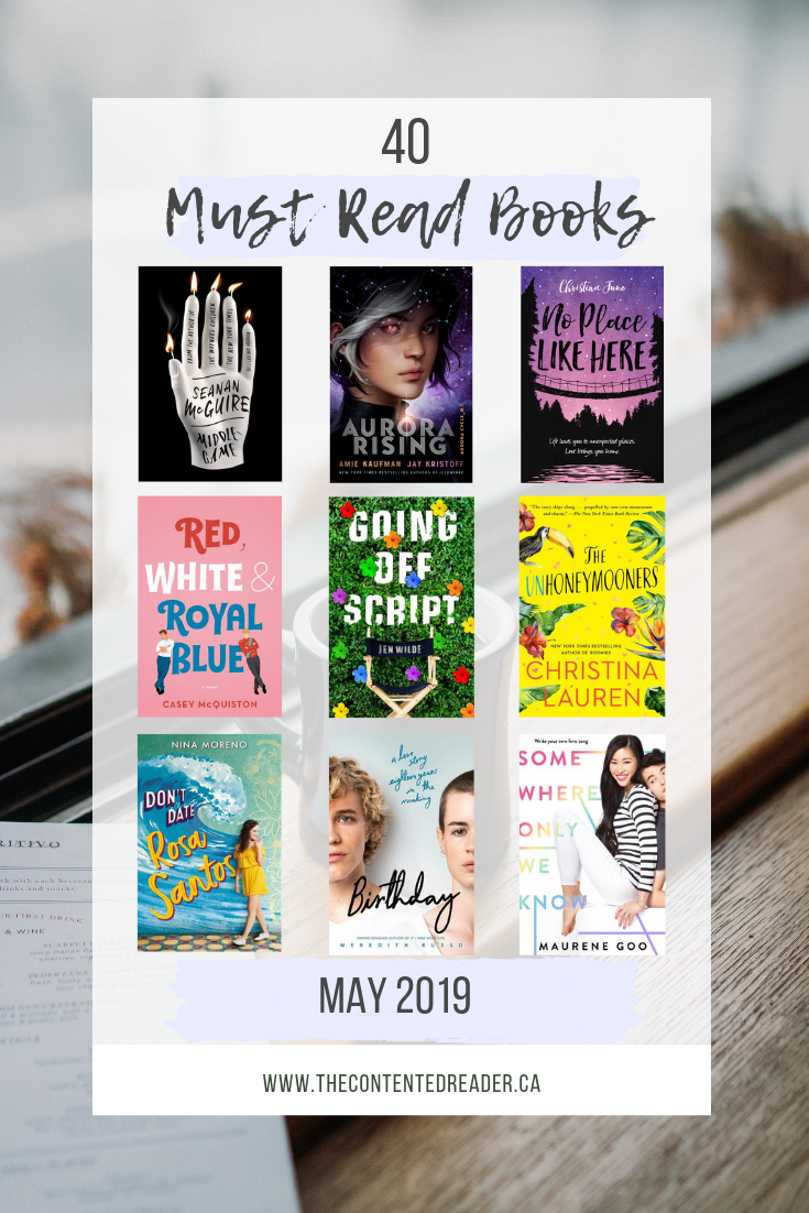 May 2019 New Releases - The Contented Reader