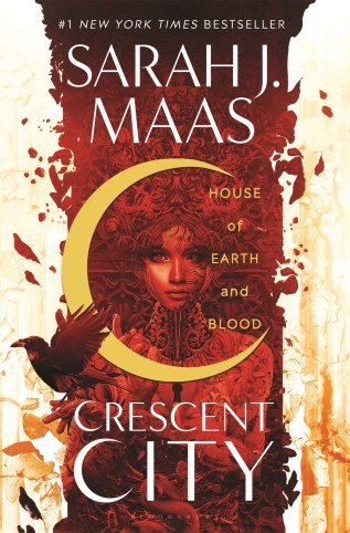 House of Earth and Blood by Sarah J. Maas Book Cover