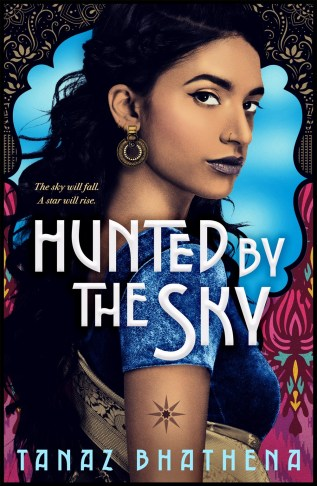 Hunted by the Sky by Tanaz Bhathena Book Cover