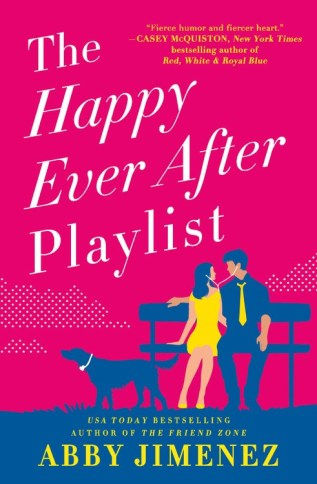 The Happy Ever After Playlist by Abby Jimenez Book Cover