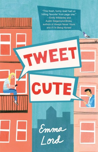 Tweet Cute by Emma Lord Book Cover