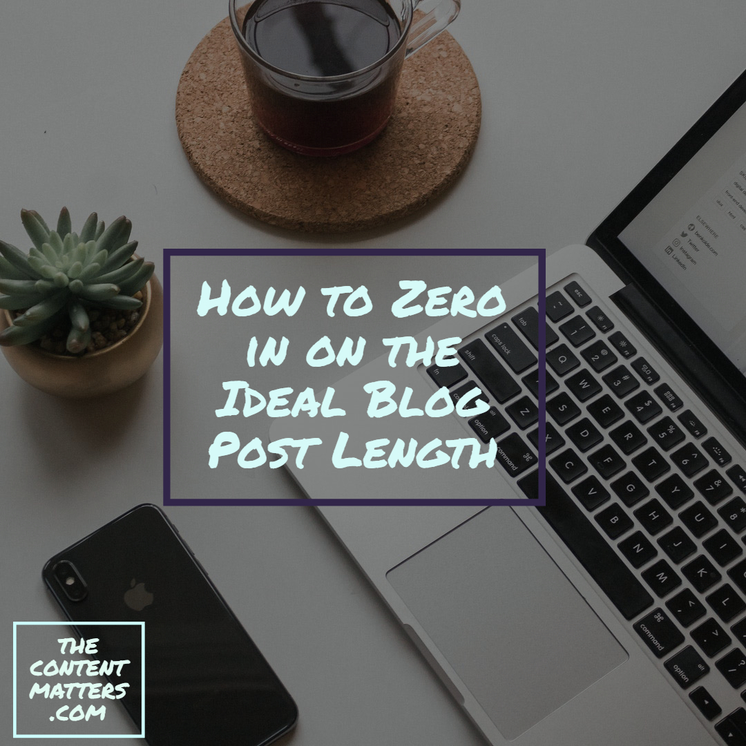 Ideal Blog Post Length