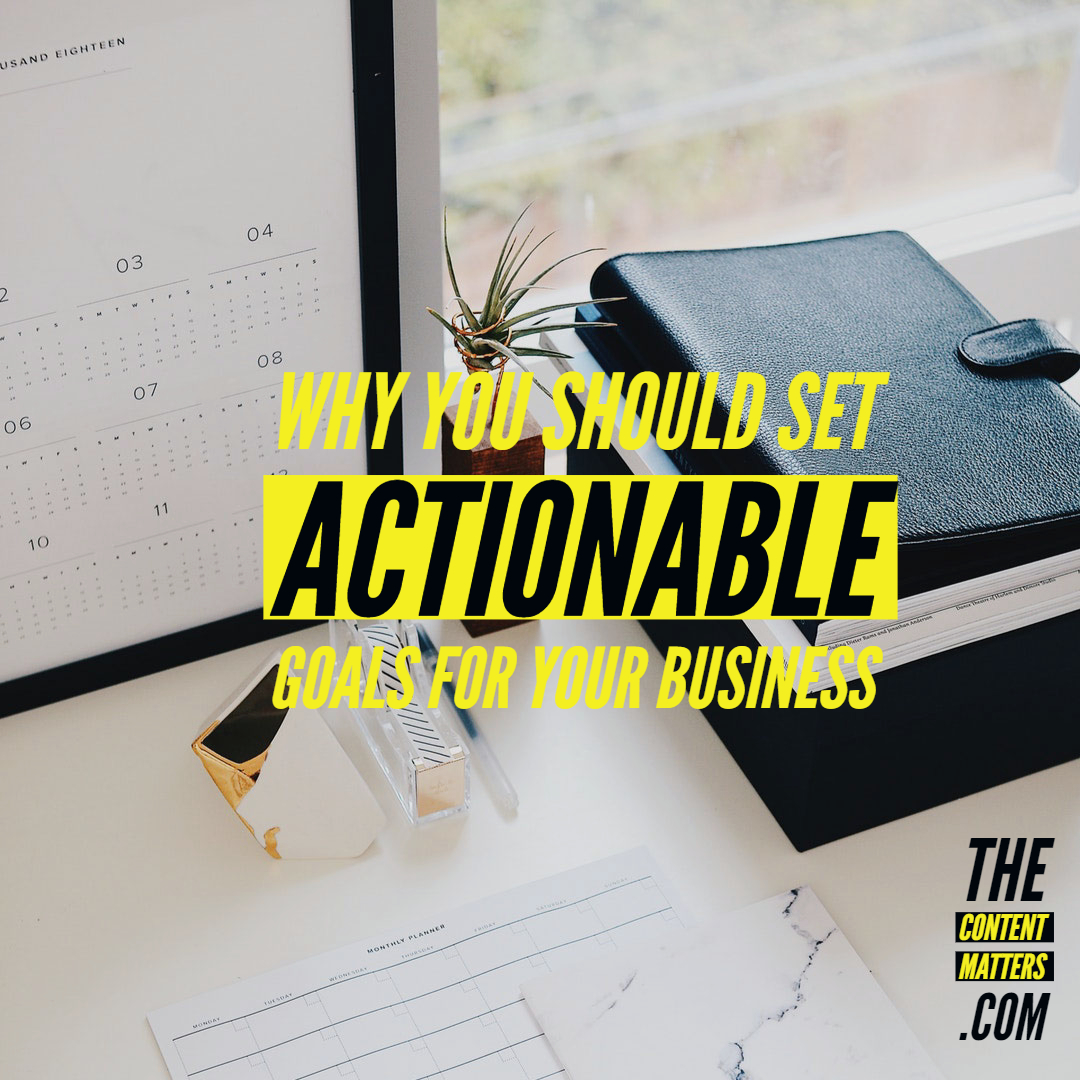 Actionable Goals