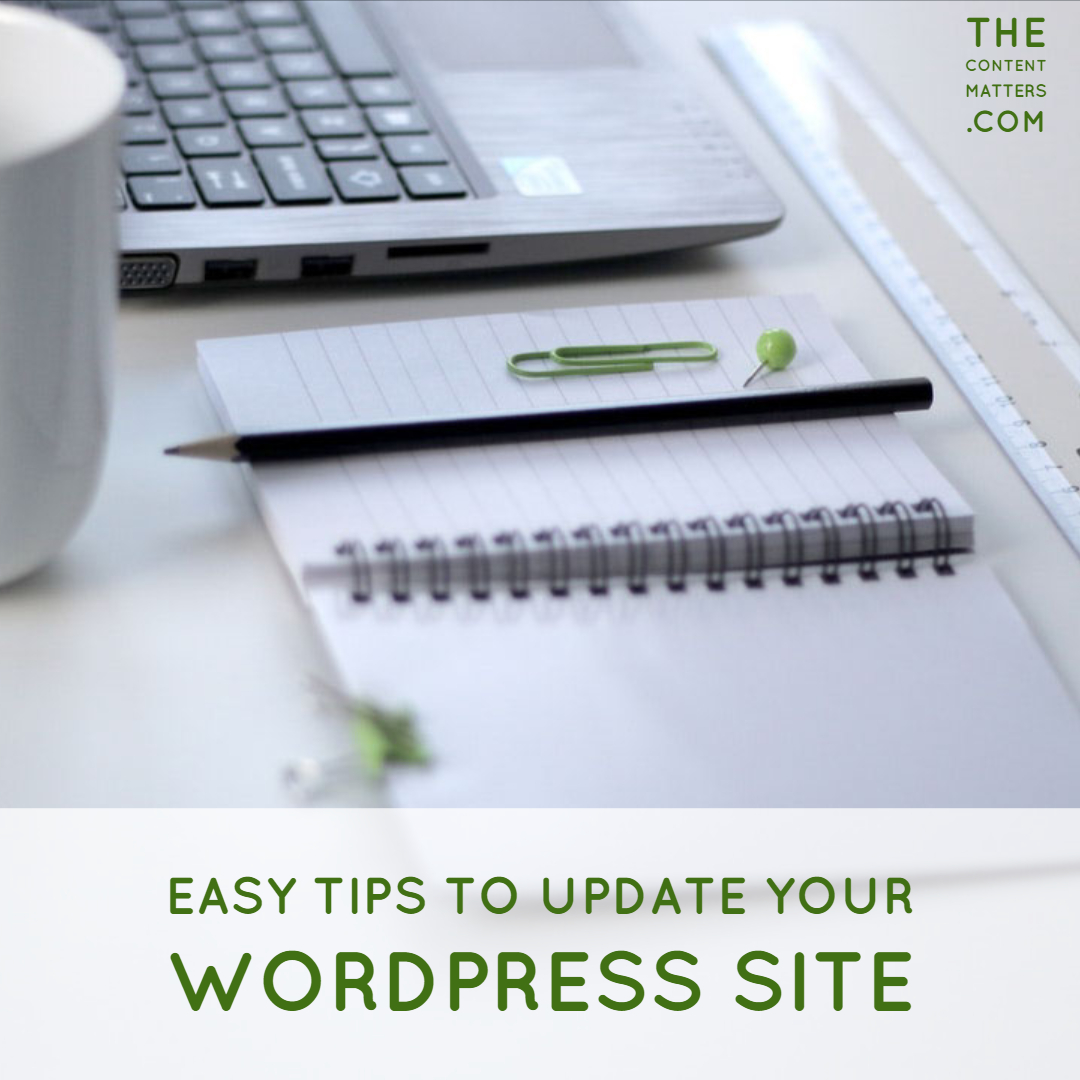 update your WordPress site