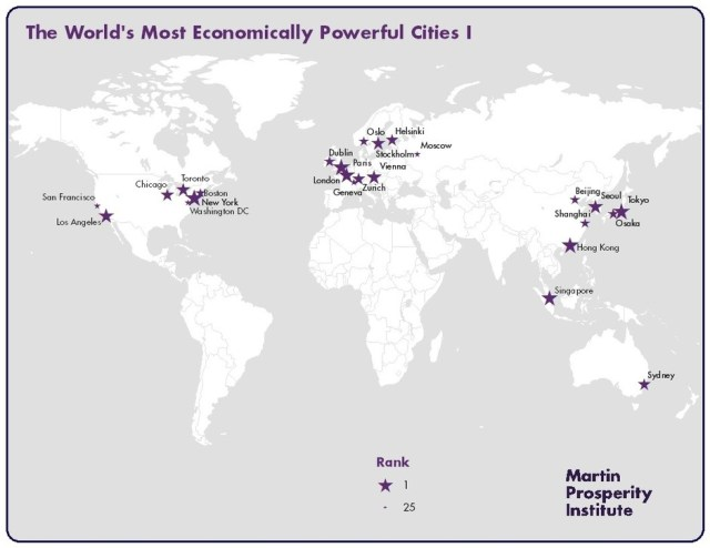 World's Most Economically-Prosperous Cities