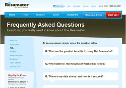 Don't Ignore your FAQ page