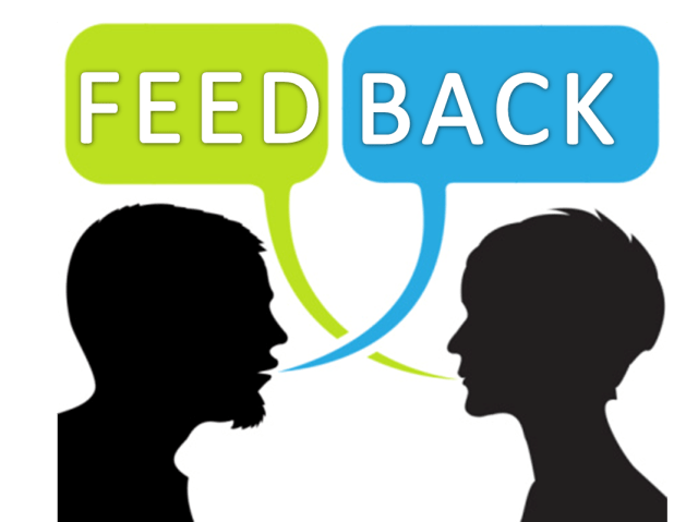 No one gives feedback at work