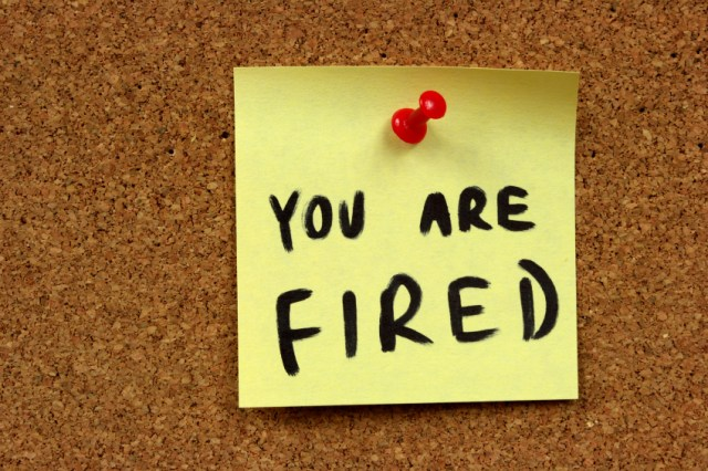Fire yourself at work