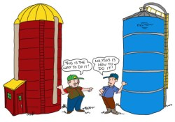Silos and the clustering of skills at work