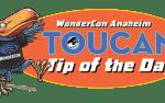 logo – toucan wondercon tip of the day